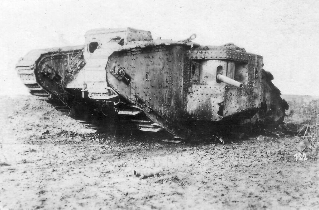 Первая мировая война фото танки
