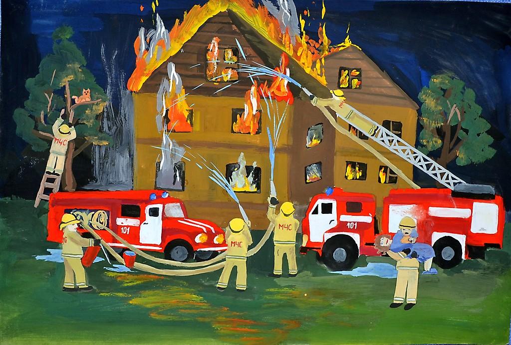 дамы рисунки к дню пожарника своими руками раз схемы