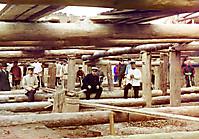 Кладка цемента для шлюза плотины