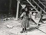 Кэти Курицко, 7-летняя обдиральщица устриц, март 1911