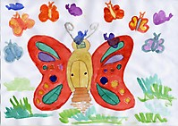 Мой дом - бабочка / My butterfly home
