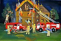 Нелёгкая профессия – пожарный / Not an Easy Profession - Firefighter