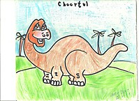 Мой забавный динозавр / My funny dinosaur