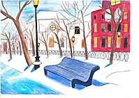 Зимний сквер / Winter park