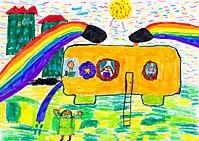Автобус Пускатель радуг / Bus - Rainbow Launcher